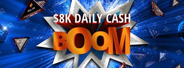 Prix en cash en jeu chaque jour !
